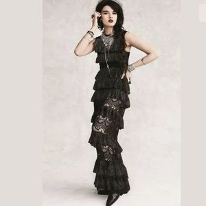 Free People Limited Edition Black Dahlia Maxi L